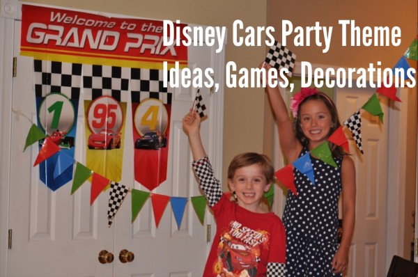 Disney Cars Inspired Party Decorations Games Ideas