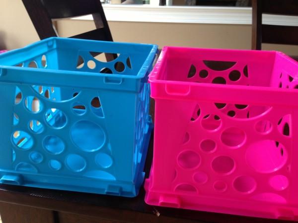 Inexpensive Storage Bins
