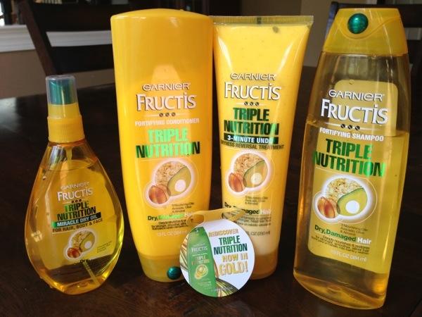 Garnier Fructis Triple Nutrition Shampoo Natural Hair