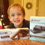 Gluten free Glutino Chocolate wafer cookies