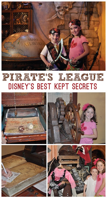 Disney Pirates League Makeover Tips - Disney Best Kept Secrets