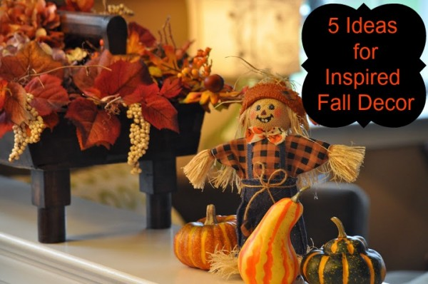 5 Easy Ways to Inspire Your Fall Decorating Gourds Pumpkins Indian Corn Hay Bales and Fall Leaves! - Classy Mommy : decorated gourds ideas - www.pureclipart.com