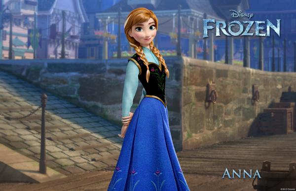 FROZEN Anna image