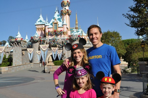 Disneyland Castle family