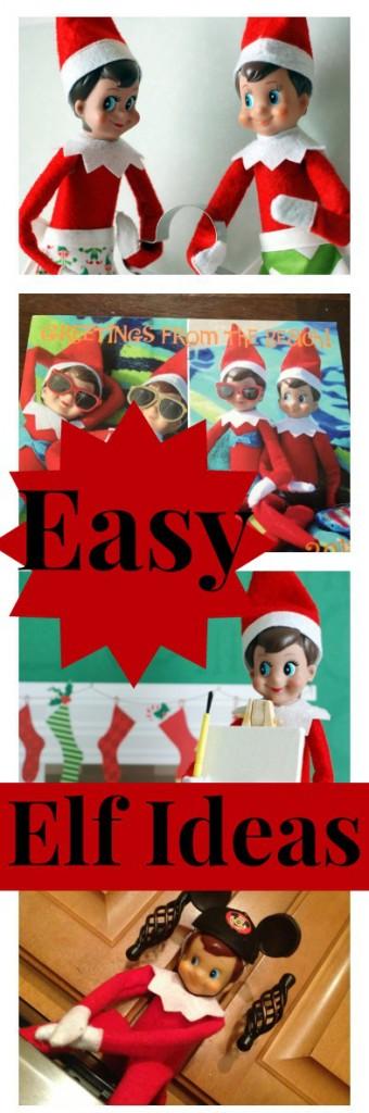 Easy Elf on the Shelf Ideas Clothing