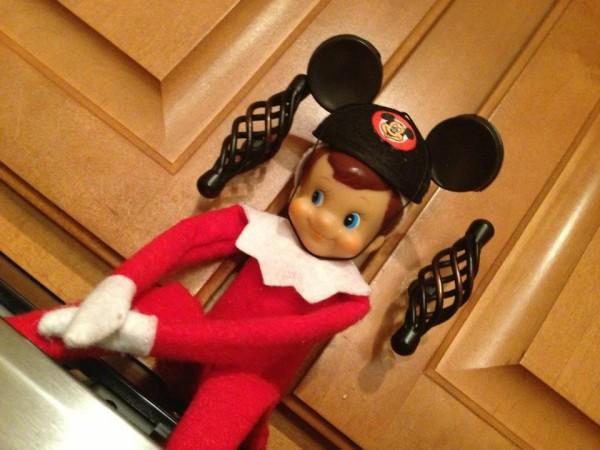 Elf on the Shelf Mickey Ears