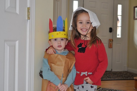 Napkin Pilgrim Hat