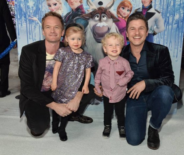 Neil Patrick Harris Frozen Premiere