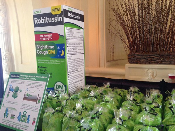 Robitussin Gift Bags