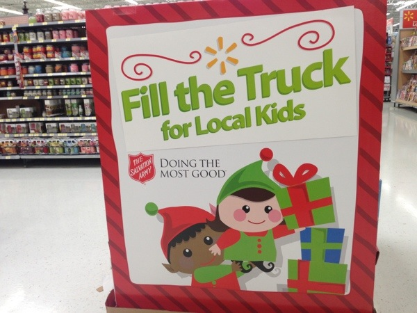 Fill A Truck 2017 Toys For Tots : Giving back donate toys at walmart with fill the