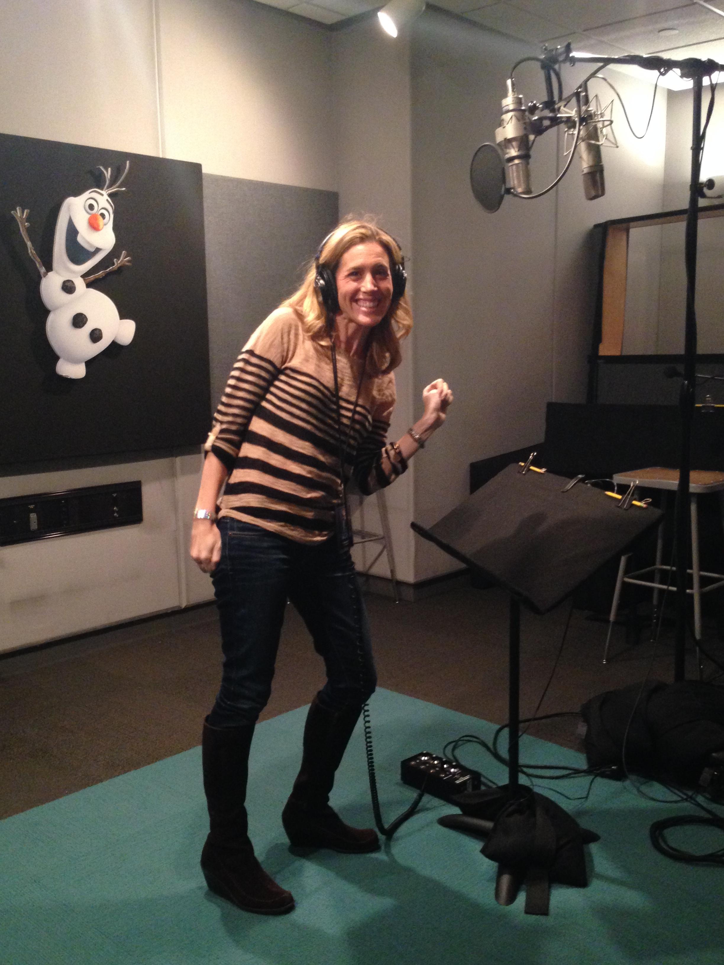Disney animation studios Voice Lab