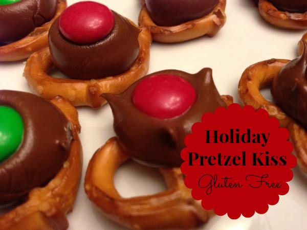 Holiday Pretzel Kiss Recipe Holiday Treats With A Gluten Free