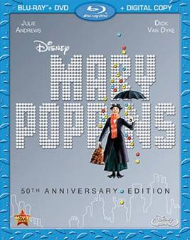 Mary Poppins 50th Anniversary DVD