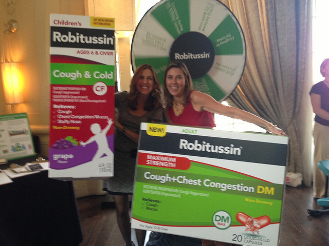 Robitussin oversized boxes