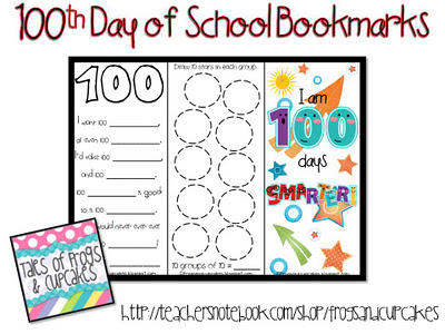 Modest image throughout 100 days of school printable