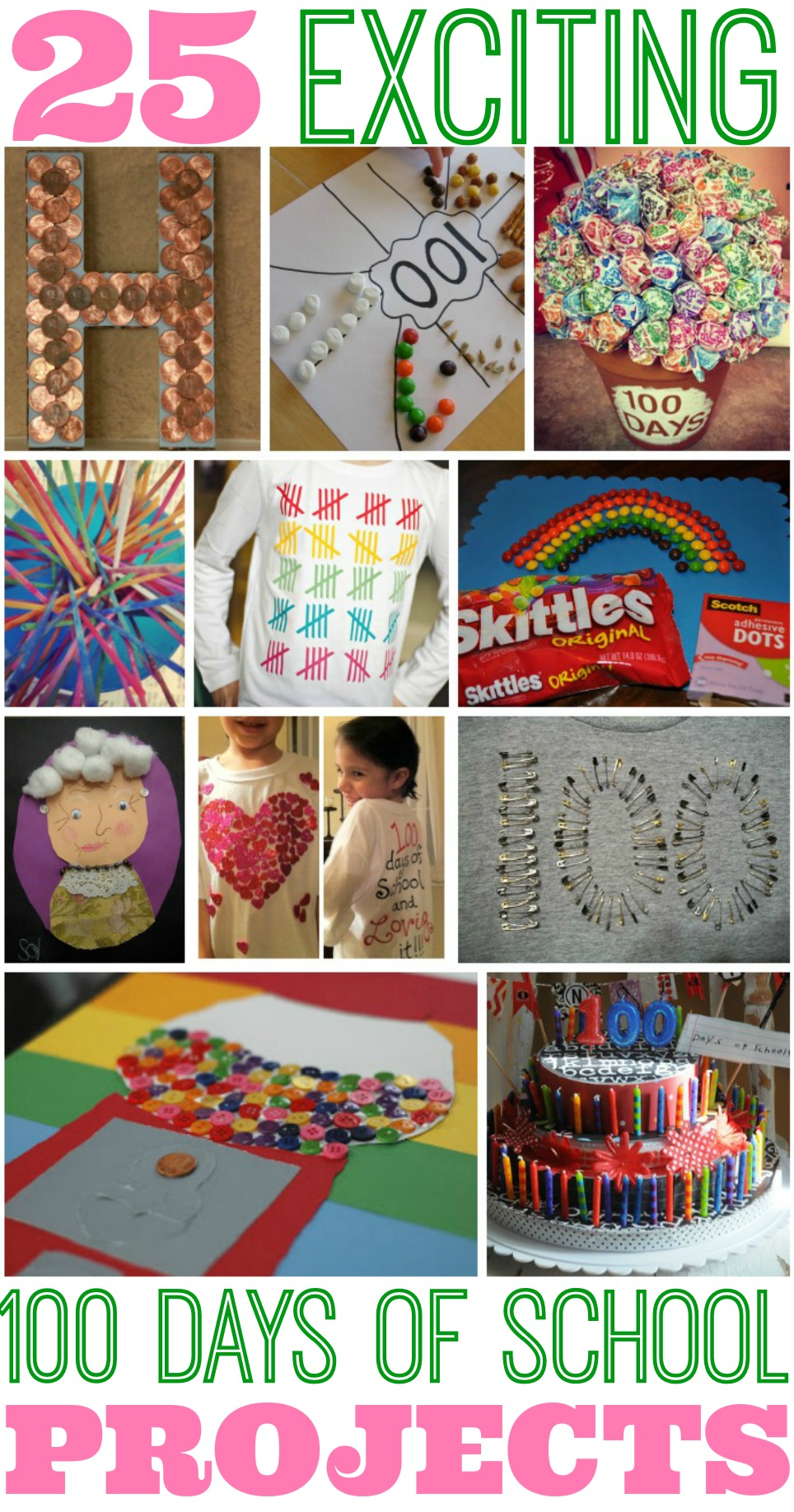Inspiration 25 Best 100 Days Of School Project Ideas