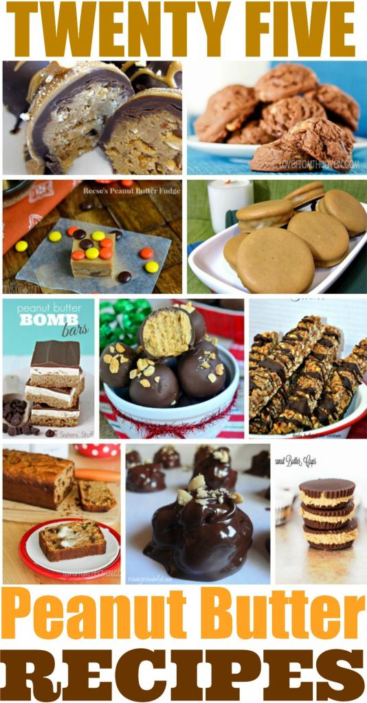 25 Best Peanut Butter Recipes
