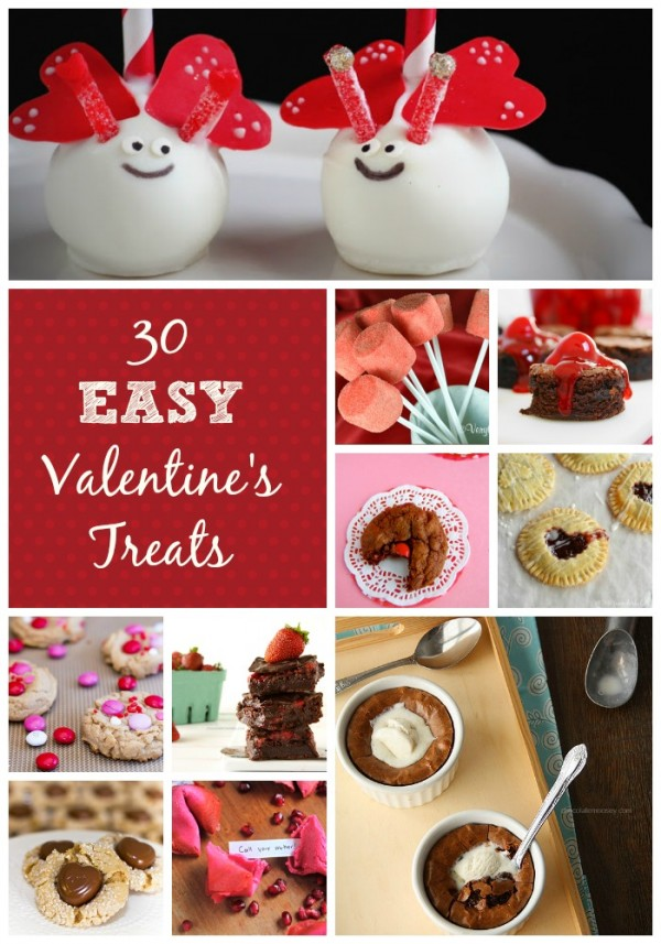 30 Easy Valentine's Day Desserts