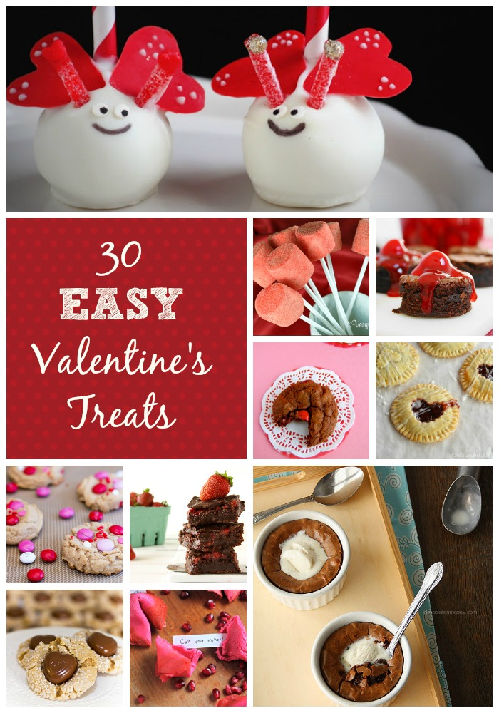 30 Easy Valentineu0027s Day Desserts