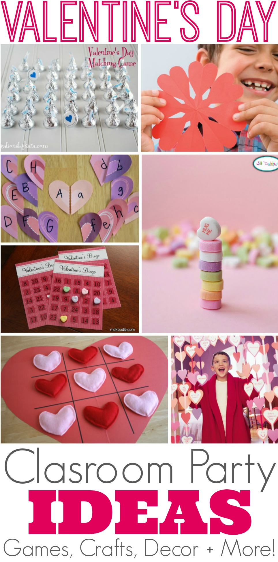 Classroom Party Ideas ~ Creative valentine s day class party ideas