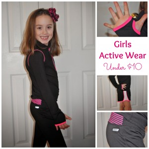 danskin now active wear for little girls
