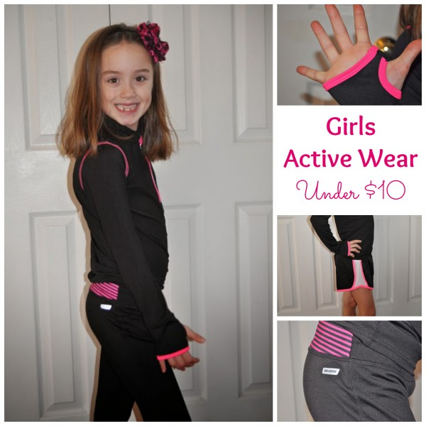 Danskin Now Active Wear for Little Girls from Walmart under $10