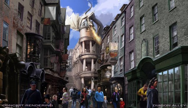 Diagon Alley Images
