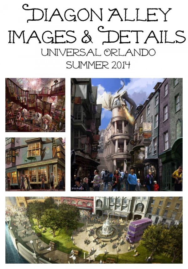 Diagon Alley Images and Details Wizarding World of Harry Potter at Universal Studios