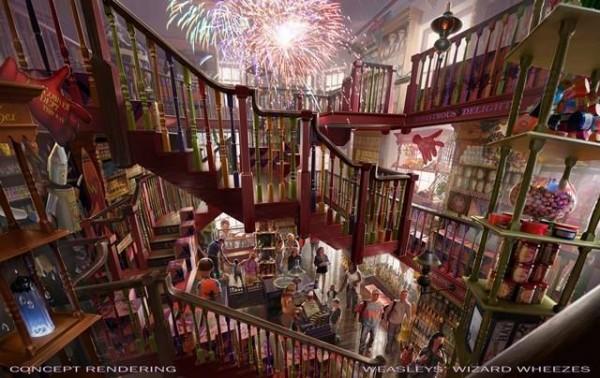 Diagon Alley Weasley Wizard Wheezes