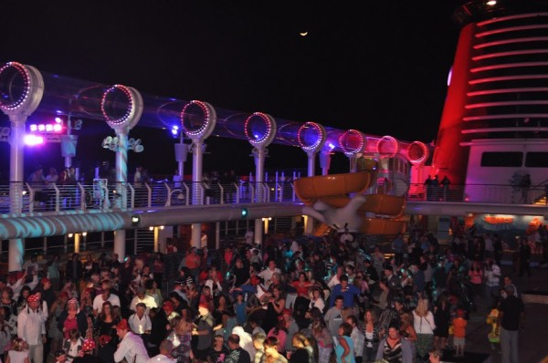 Disney Cruise Party Night