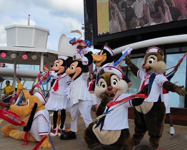 Disney Cruise Sail Away Party Images