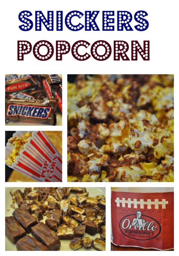 Easy How to Make Snickers Popcorn Recipe with Step by Step directions