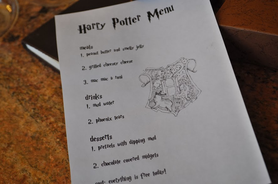 How to Host a Harry Potter Lunch with a Hogwarts Inspired Menu