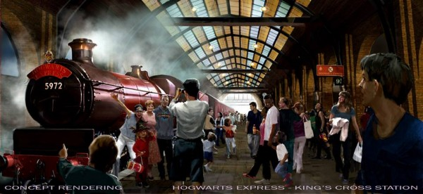 Hogwarts Express Kings Cross Station
