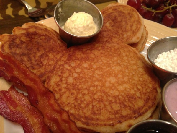 Gluten Free Mickey Pancakes