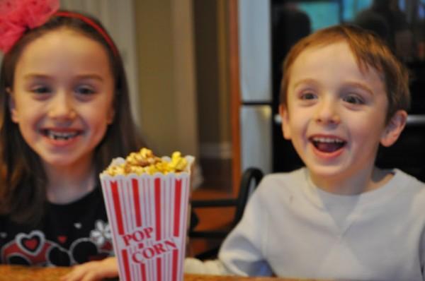 Snickers Popcorn Excitement