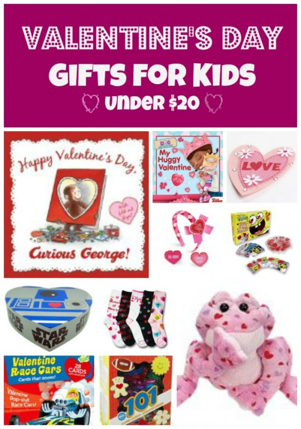 Valentine's Day Gifts for Kids under $20