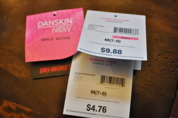 Walmart Danskin Prices