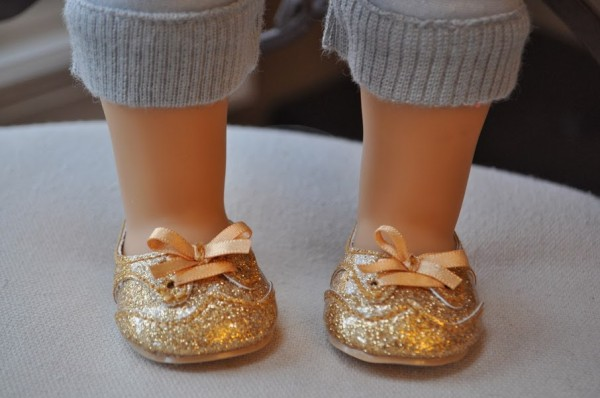 American Girl Isabelle slippers