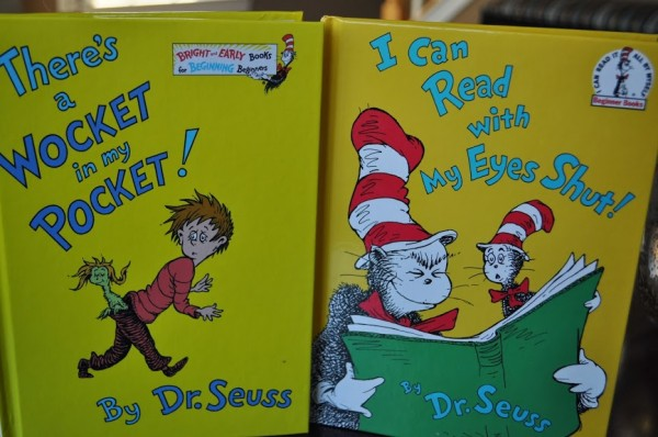 Dr. Seuss Books Wocket in Pocket
