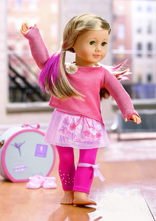 Isaabelle Dance Oufit American Girl