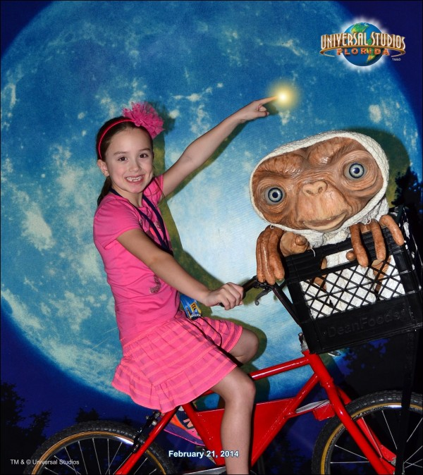 Kenzie with E.T