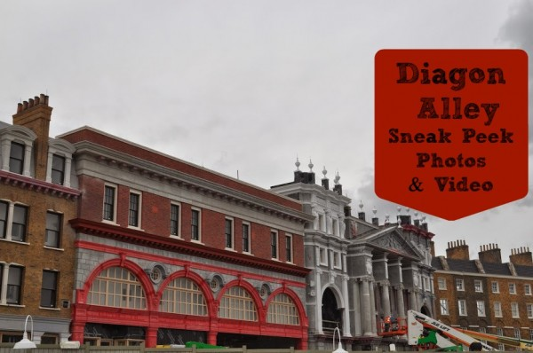 London Diagon Alley Sneak Peek Photos and Video at Universal Orlando