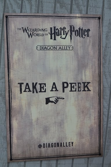 Take a peek at Diagon Alley Universal