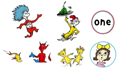 cupcake toppers dr seuss free printable