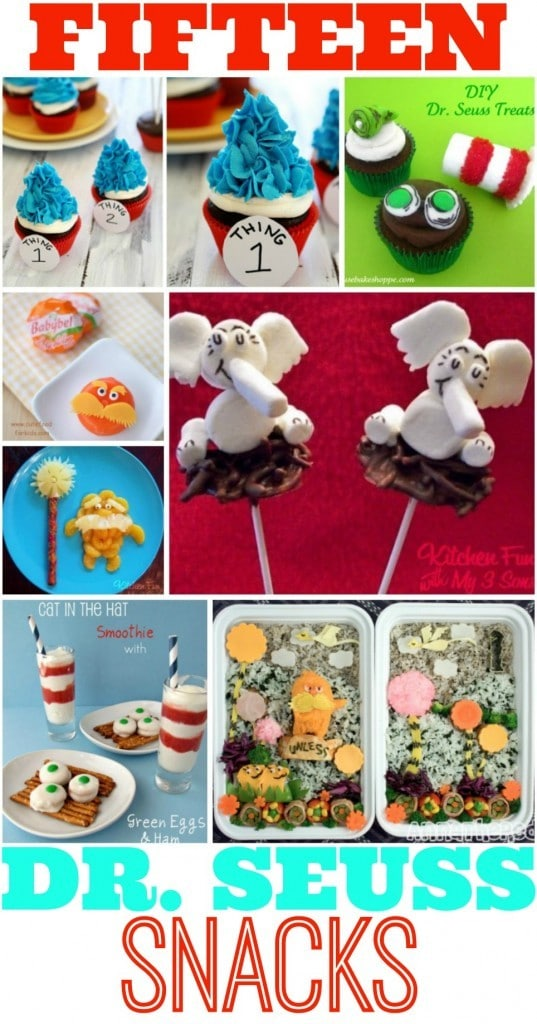 15 Seuss Inspired Snacks and Treats