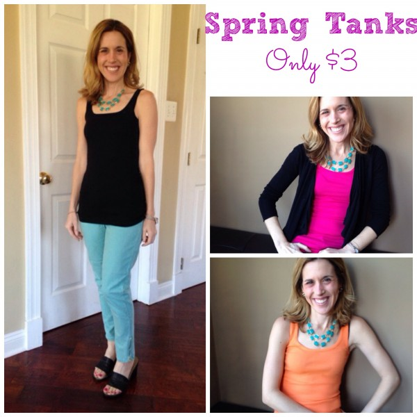 3 tanks to transform your wardrobe for only $3