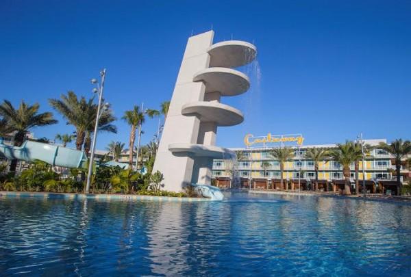 Cabana Bay Resort Pool at Universal Orlando