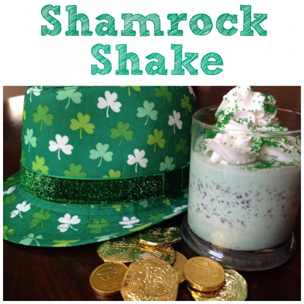 How to Make a Shamrock Shake recipe #StPatricksDay