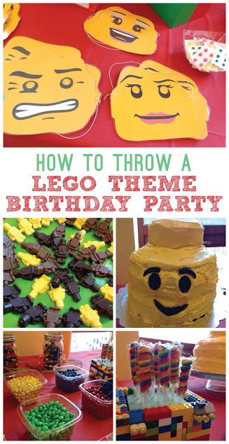 How to throw a lego theme birthday party